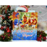 """Набор с чаем и орехами в шоколаде """"Снегирь"""" - подарочный набор"""