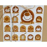 """Оригинальный подарок для женщин и мужчин """"Универсальный"""" с чаем, кофе, орехами и конфетами в коробке"""