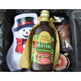 """Новогодний подарок для мужчин """"Джентльмен"""" с чаем, кофе и медом"""