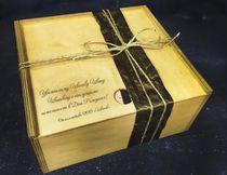 Деревянный короб с гравировкой