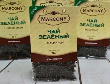 Чай зелёный с жасмином 50 г.