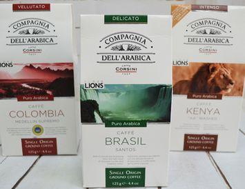 Кофе молотый 125 г. Бразилия  (Италия)