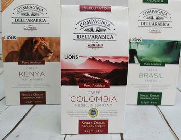Кофе молотый 125 г. Колумбия  (Италия)
