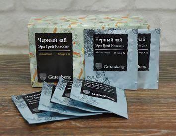 Пакетированный черный чай Эрл Грей