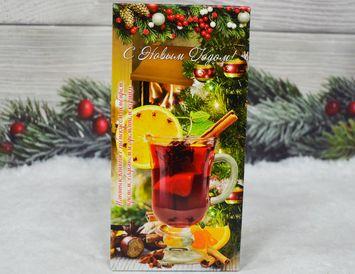 Чай чёрный  Новогодний с каркаде и пряностями 50 г.