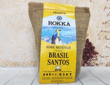 Кофе молотый Rokka Бразилия Santos 200 г.