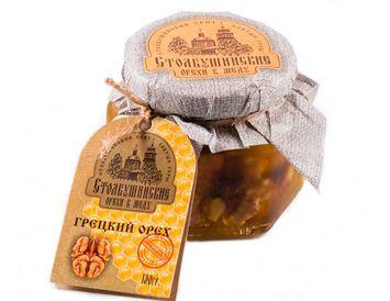 Мед с грецким орехом 130 гр.
