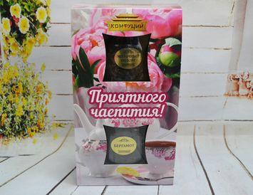 Набор из 2 видов чая с Молочным оолонгом 100 г. - сменная обечайка