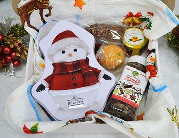 Новогодний подарок №1 с чаем и конфетами