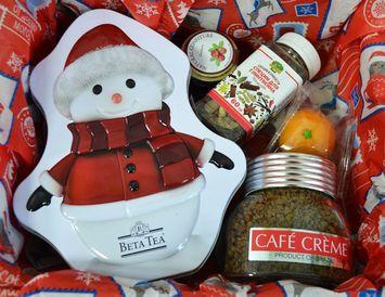 """Новогодний подарок -комплимент """"Чай, кофе,глинтвейн?"""" - подарочный набор"""