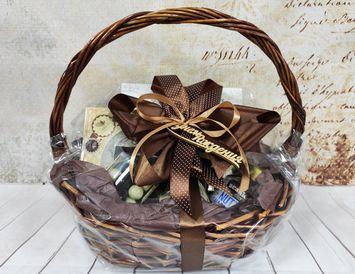 Подарочная корзина для мужчины на День Рождения