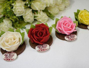 Шоколадная роза 70 г.