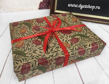 """Подарок на 8 марта из чая и конфет """"В коробке"""""""