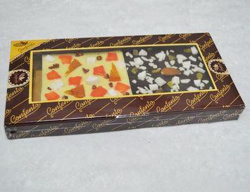 ПШ элитная 90 г. белый и тёмный шоколад
