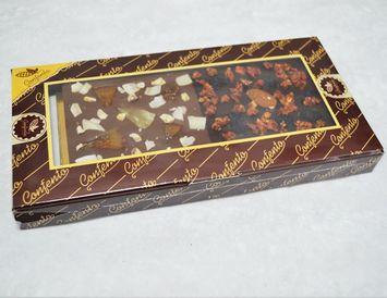 ПШ элитная 90 г. молочный и тёмный шоколад