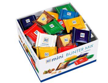 Шоколад Ritter sport mini в ассортименте