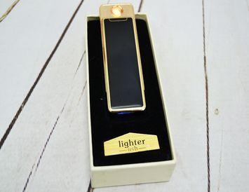 USB  зажигалка Gold&Black