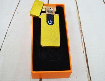 USB - зажигалка с экраном, цвет в ассортименте