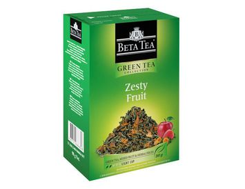 """Чай зелёный """"Пикантные фрукты"""" 90 г."""