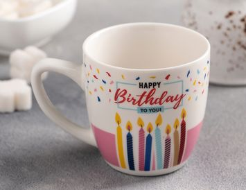 Кружка День Рождения торт