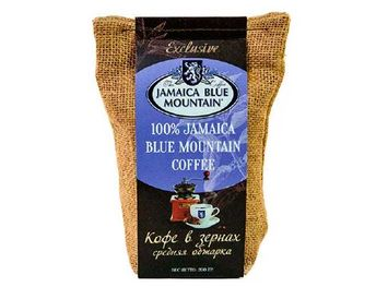 Кофе Ямайка Блю Маунтин 200 г. в зернах