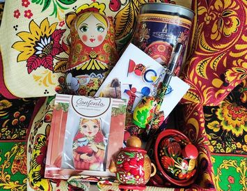 """Набор подарочный """"Матрешка"""" эксклюзив"""