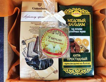 """""""Антипростудный"""" подарок на день учителя"""