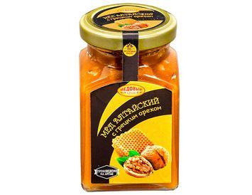 Мёд с грецким орехом 320 г.