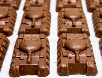 """Шоколад """"Танк"""" 50 г."""