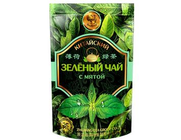 Зелёный чай с мятой 50 г.