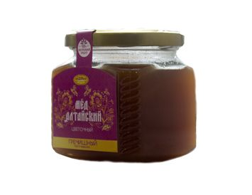 Мёд алтайский гречишный 250 г.