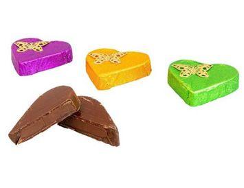 Конфета LUX Candу тёмный шоколад с лесным орехом