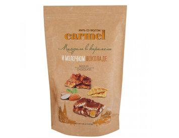 Конфеты Карамелизированный миндаль в молочном шоколаде 120 г.