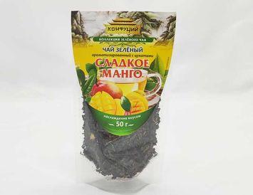 Зеленый чай с манго