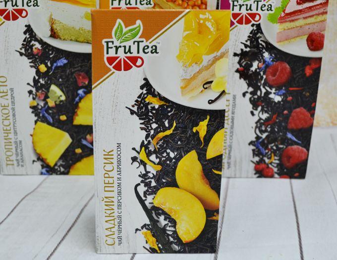 Чай черный FruTea Персиковый 50 г.