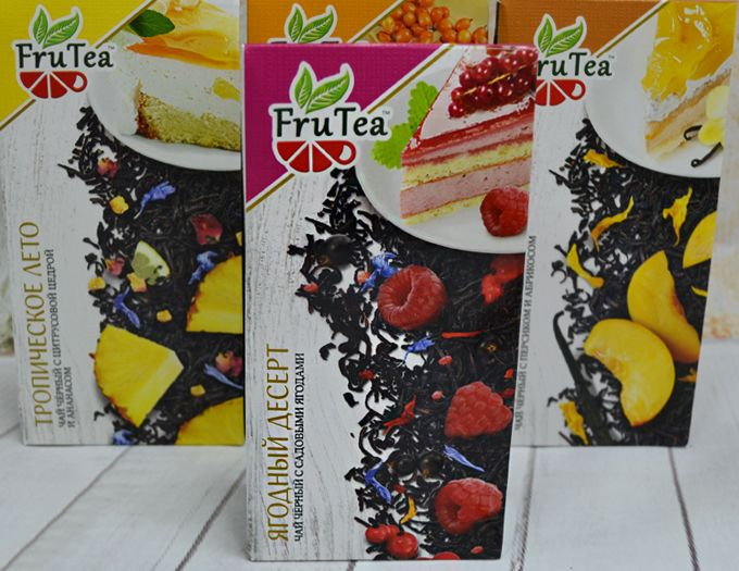 Чай черный FruTea Ягодный десерт 50 г.