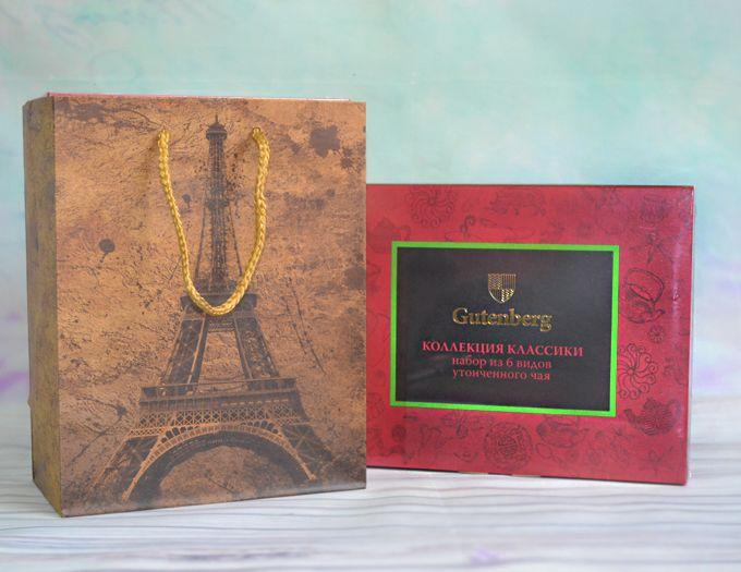 """Подарочный набор чая  """"Коллекция Чайной Классики""""  (60 пакетиков)"""