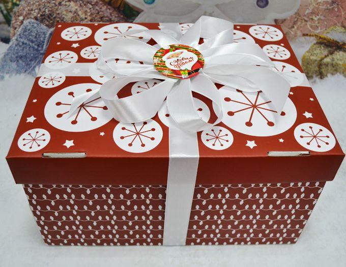 """Подарок на Новый год """"Годовой запас чая"""" 1325 гр. для большой семьи"""