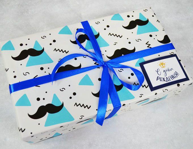 """Набор из 3 продуктов """"С Днем Рождения"""" - подарочный набор"""