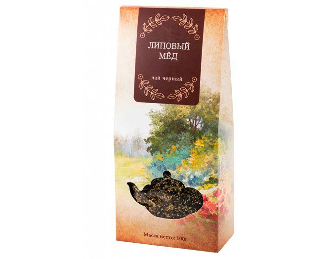 Чай чёрный Липовый мед 100 г.