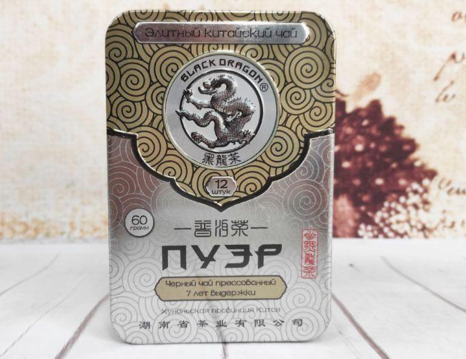 Чай Пуэр 7 лет прессованный 60 г.