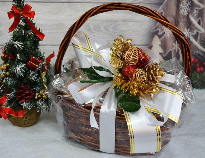 """Подарочная Корзина на Новый год """"Новогодняя"""" - основа"""