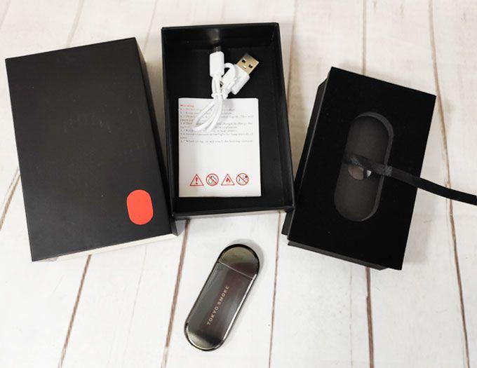 USB зажигалка Tokyo smoke металлик
