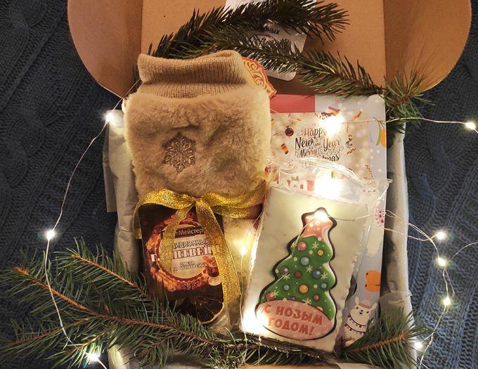 """Подарок на Новый год учителю """"Тепла и уюта"""""""