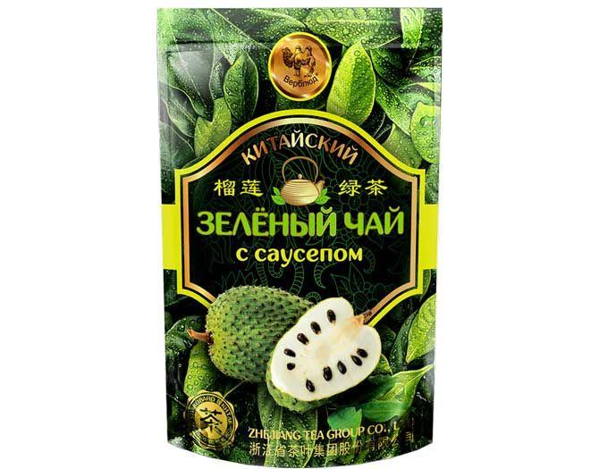 Зеленый чай с саусепом 50 г.