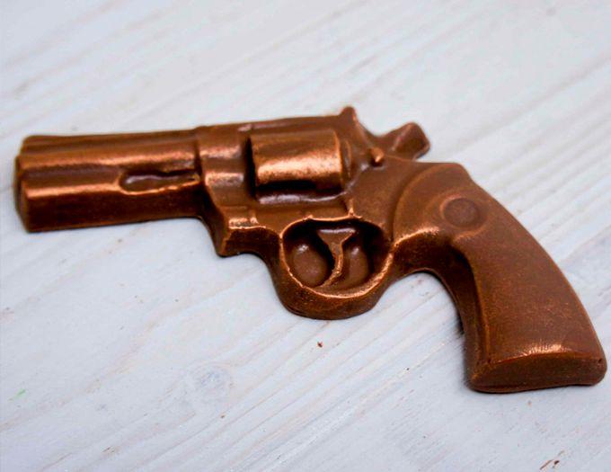 Шоколадный пистолет 35 г.